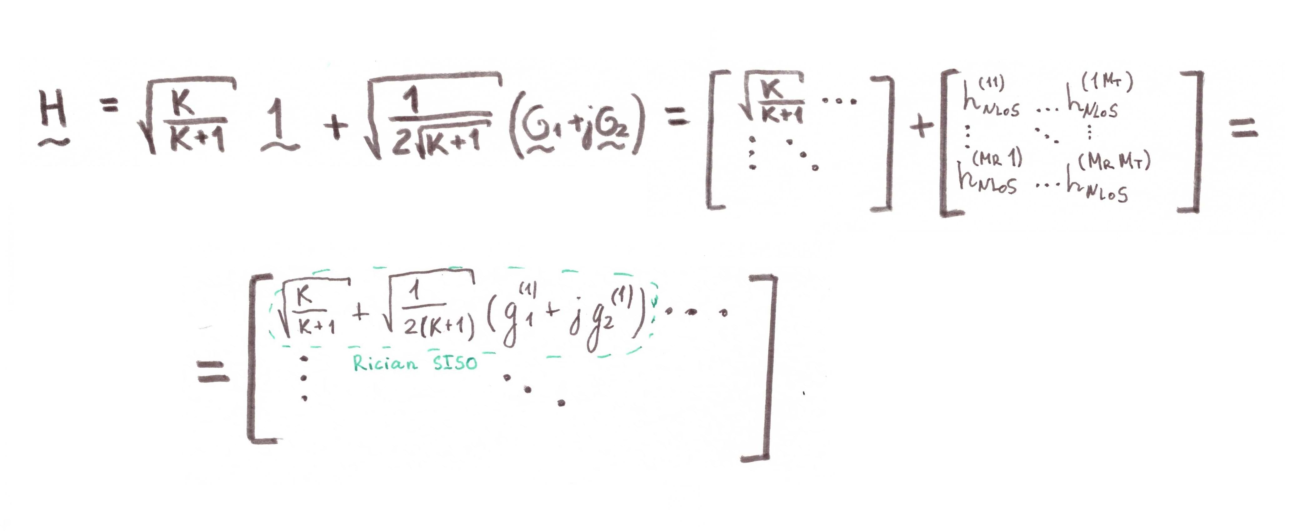 Почти самый простой MIMO канал с замираниями (модель Кронекера прилагается) - 66
