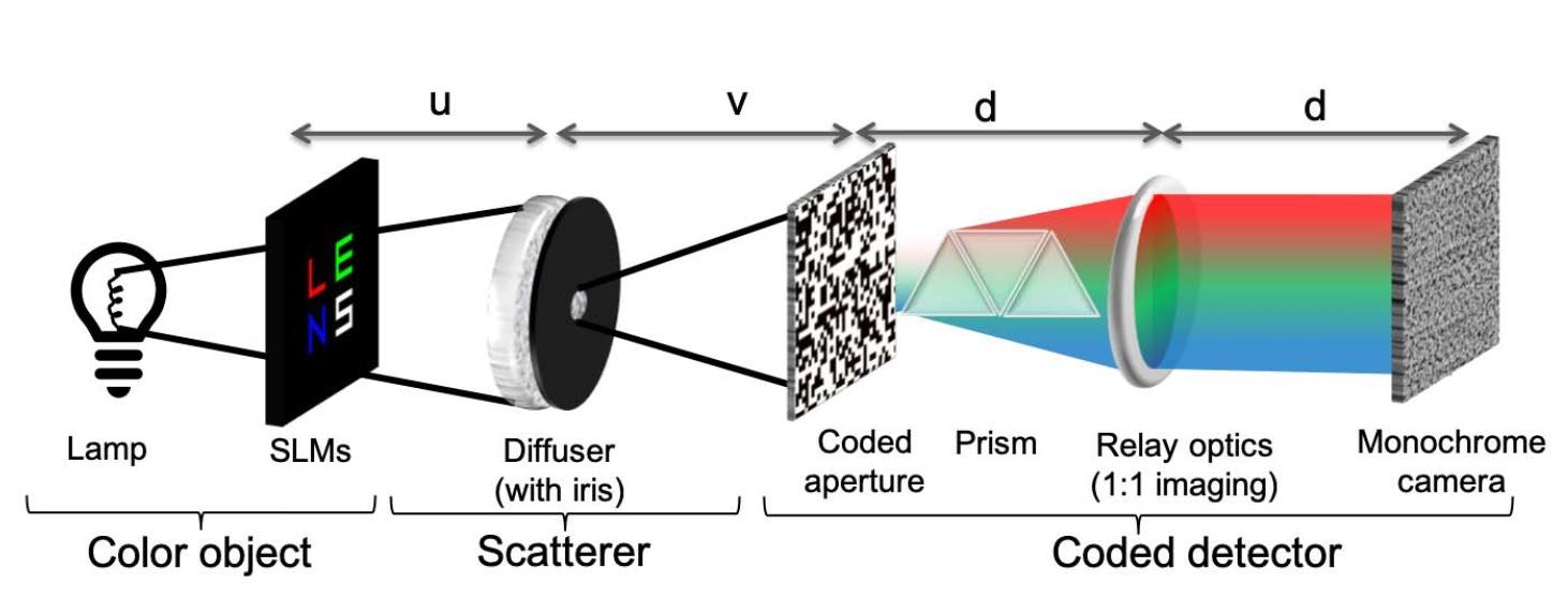 Увидеть почти невидимое, еще и в цвете: методика визуализации объектов через рассеиватель - 3