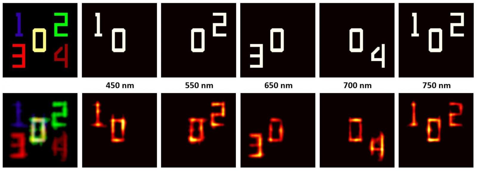 Увидеть почти невидимое, еще и в цвете: методика визуализации объектов через рассеиватель - 1