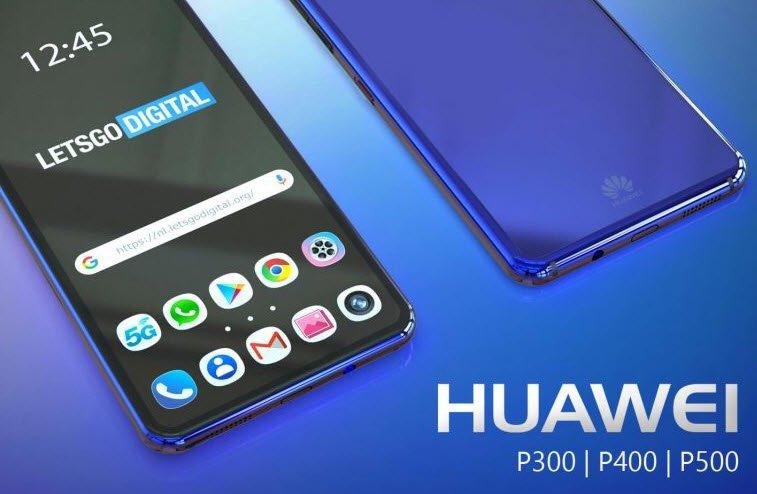 Huawei готовит к выпуску флагманские камерофоны Huawei P300, P400 и P500