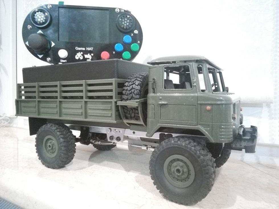 Игрушка ГАЗ-66 на пульте управления. Часть 2 - 1