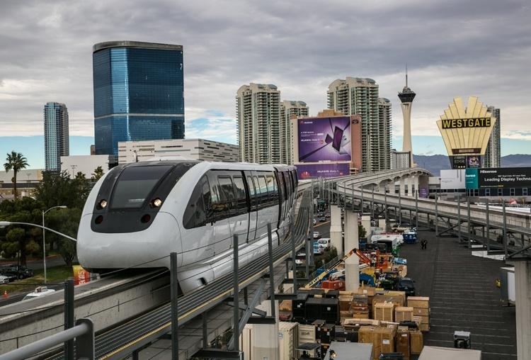 Туннель Илона Маска встревожил руководство монорельсовой дороги в Лас-Вегасе