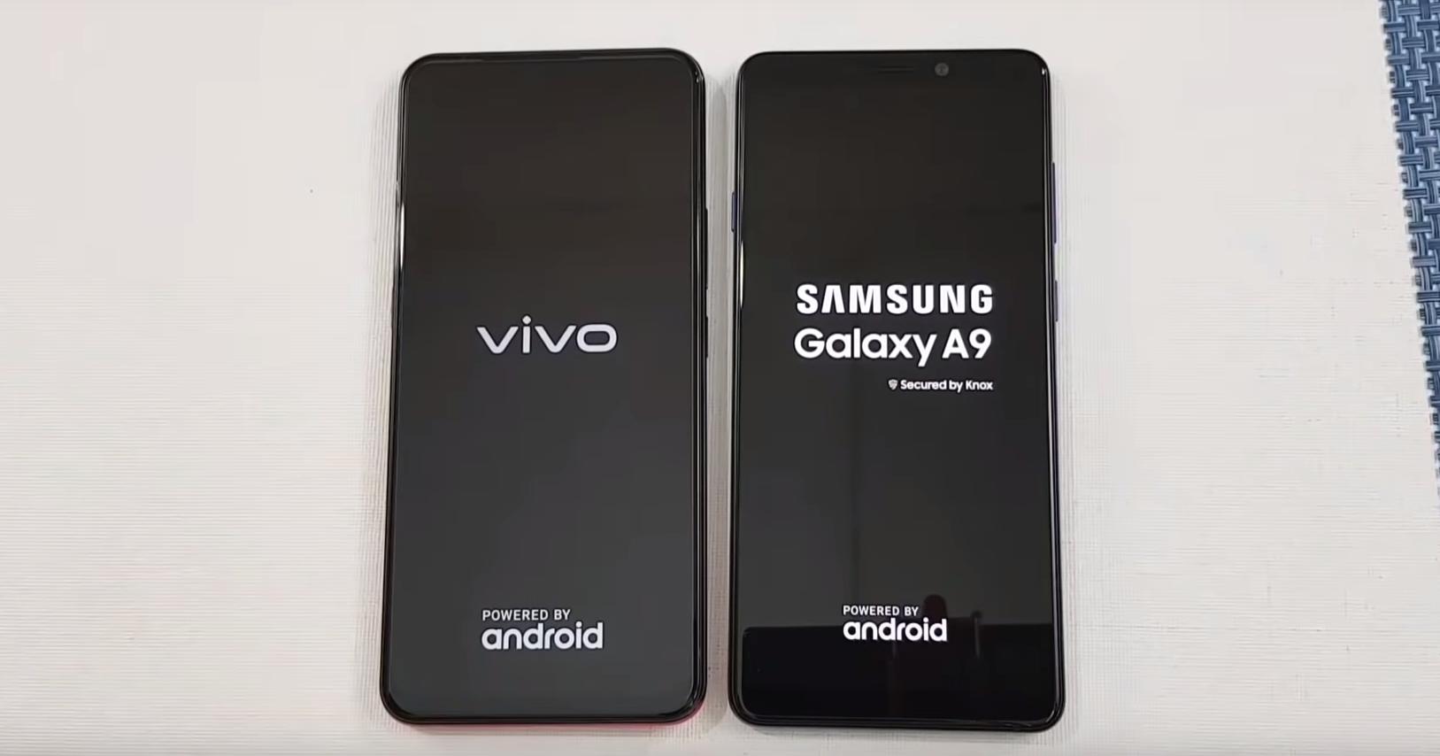 Vivo V15 против Samsung Galaxy A9: тест на скорость