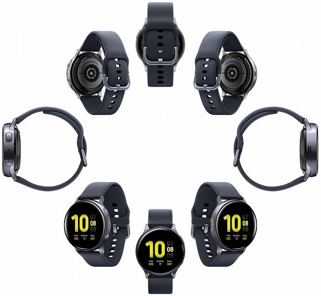 Галерея дня: умные часы Samsung Galaxy Watch Active 2 в двух размерах и с разными материалами ремешков
