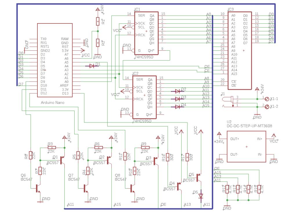 Программатор для EPROM на Arduino - 1