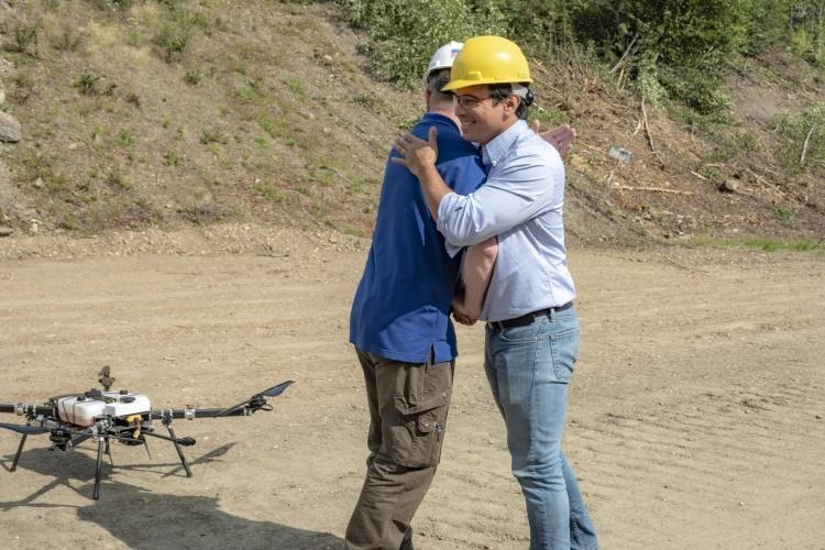 В США произвели первый разрешённый регулятором полёт дрона за пределами видимости оператора