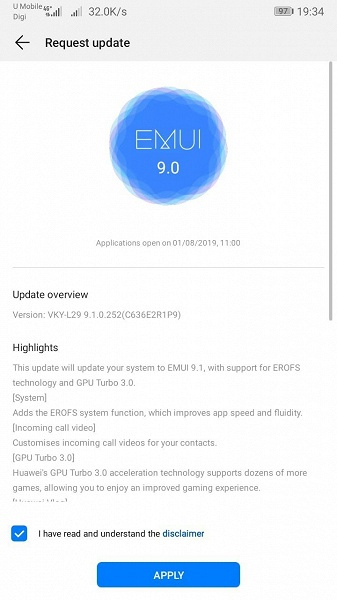 Huawei P10 Plus получил финальную версию EMUI 9.1