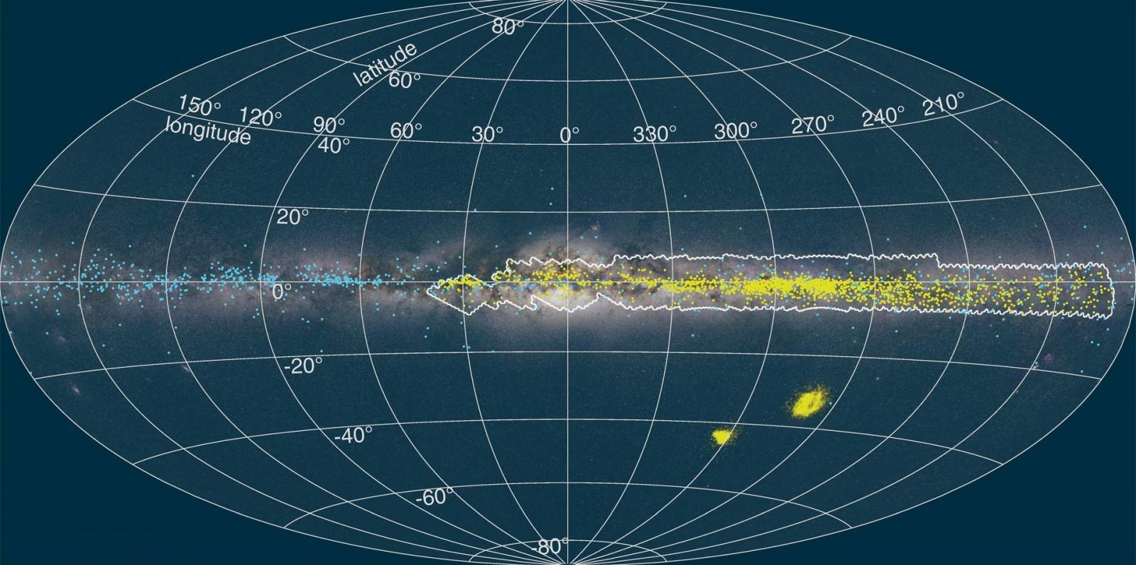 Астрономы создали новую 3D карту галактики Млечный путь - 3