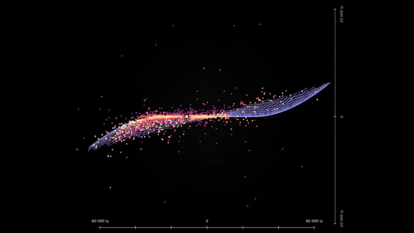 Астрономы создали новую 3D карту галактики Млечный путь - 6