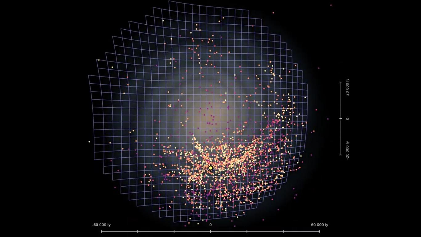 Астрономы создали новую 3D карту галактики Млечный путь - 7