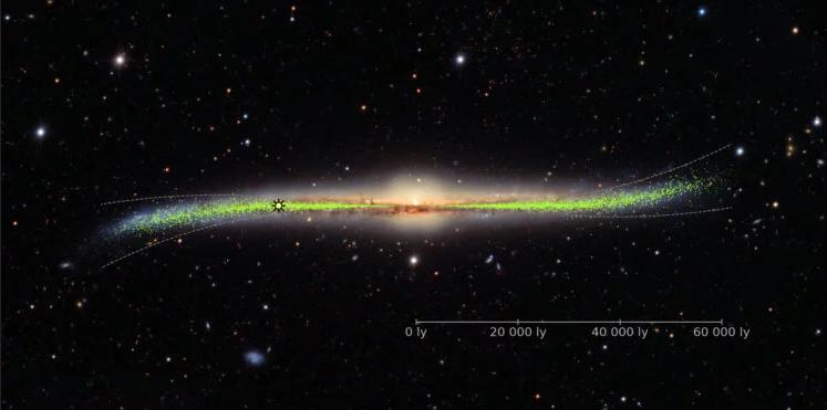 Астрономы создали новую 3D карту галактики Млечный путь - 1