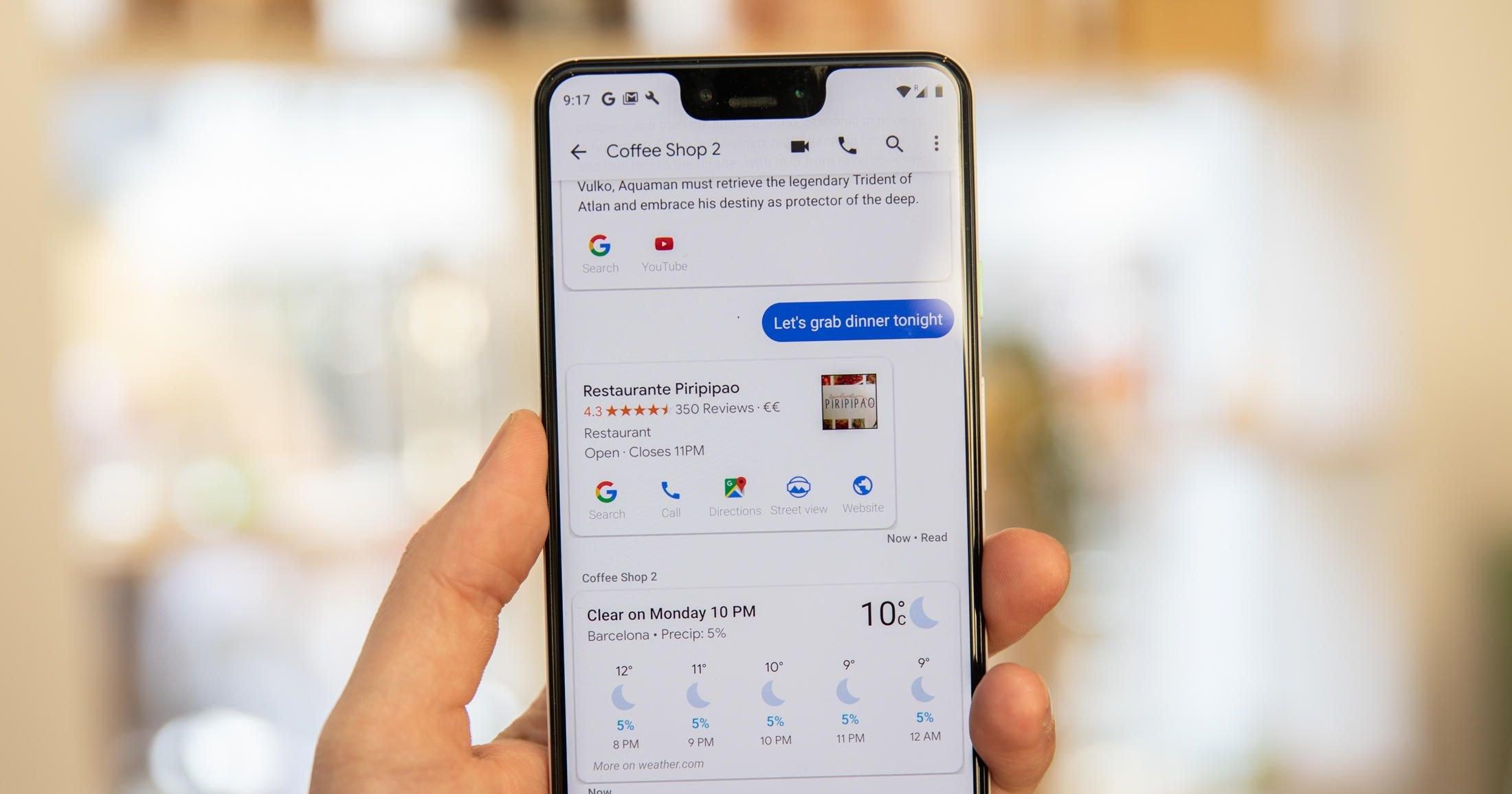 Помощник Google теперь будет читать сообщения WhatsApp и Telegram