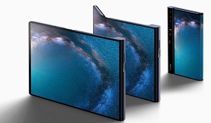 Сначала небольшими партиями. Складной смартфон Huawei Mate X с гибким экраном начнёт появляться в магазинах совсем скоро