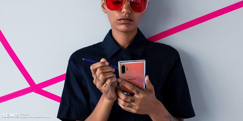 Samsung Galaxy Note10+ предстал на живом фото