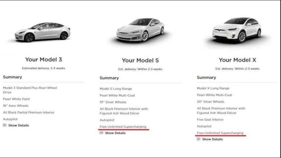 Tesla Model S и Model X можно снова бесплатно заряжать «суперчарджером» - 7