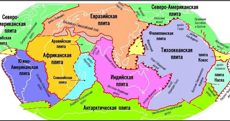 Древняя вода «состарила» литосферные плиты Земли