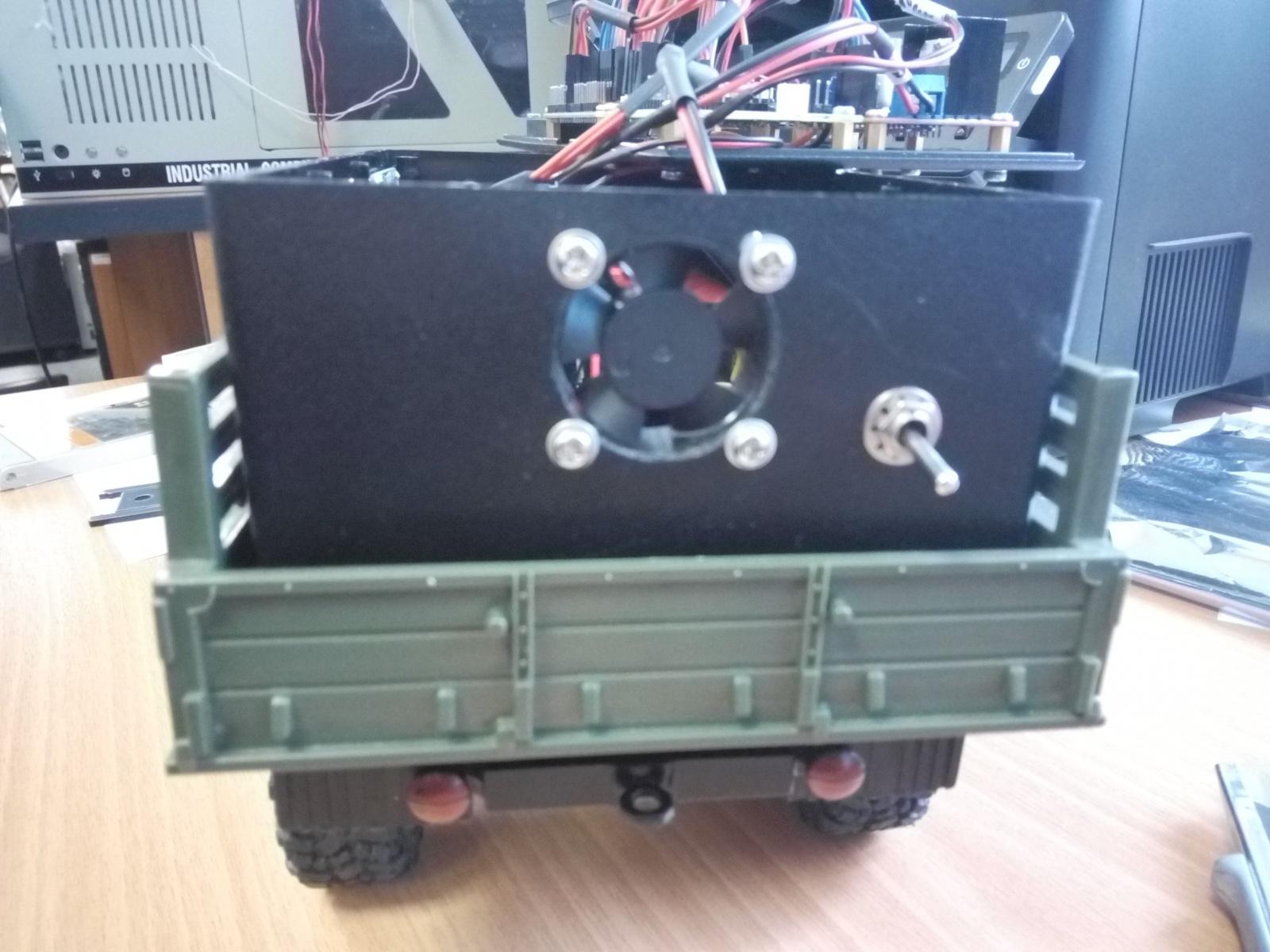 Игрушка ГАЗ-66 на пульте управления. Часть 3 - 6