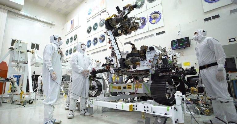 Как выглядит марсианский ровер будущего: ядерная батарея и роборука