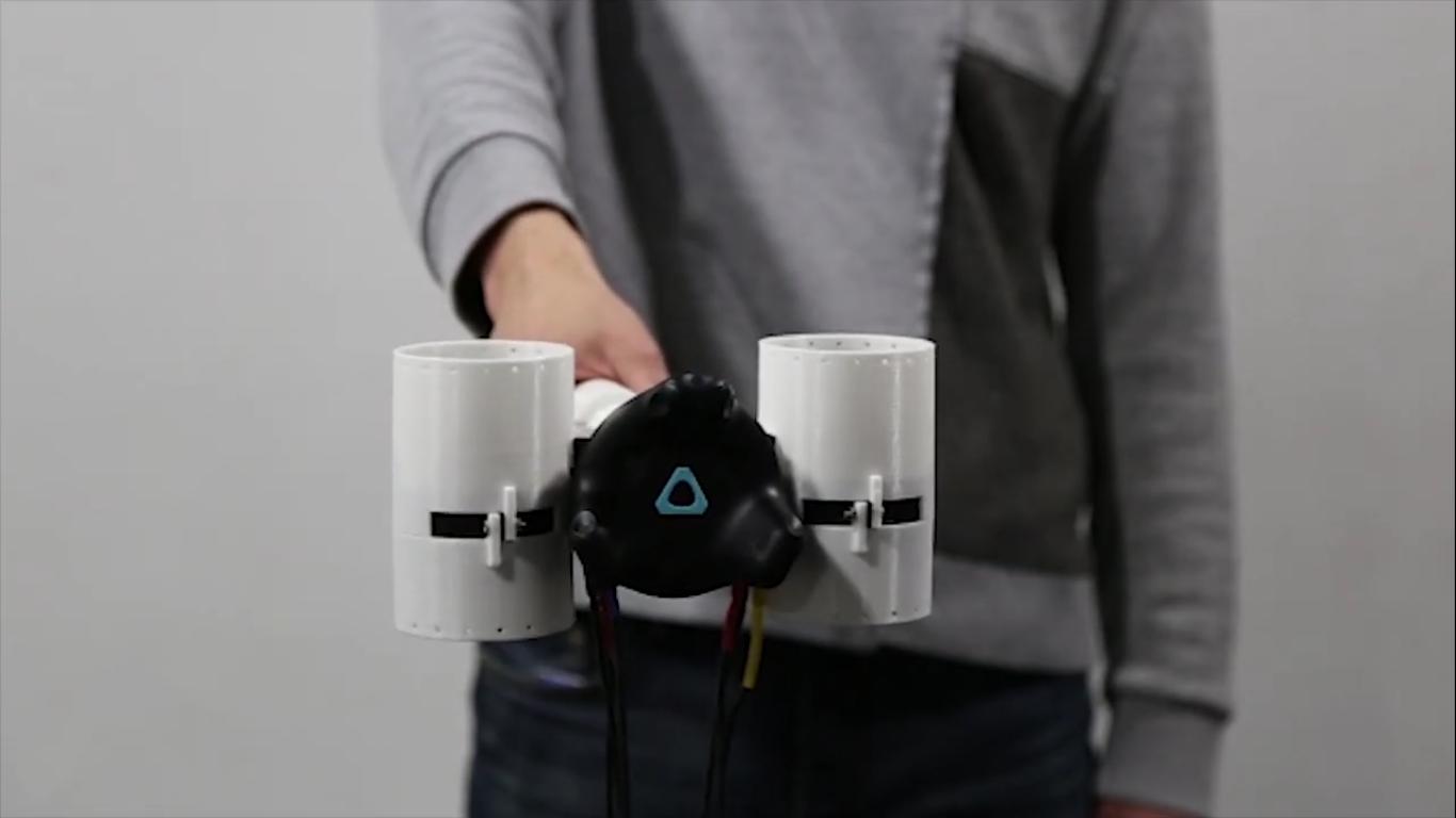 Корейские инженеры сделали простой контроллер с обратной связью для виртуальной реальности - 6