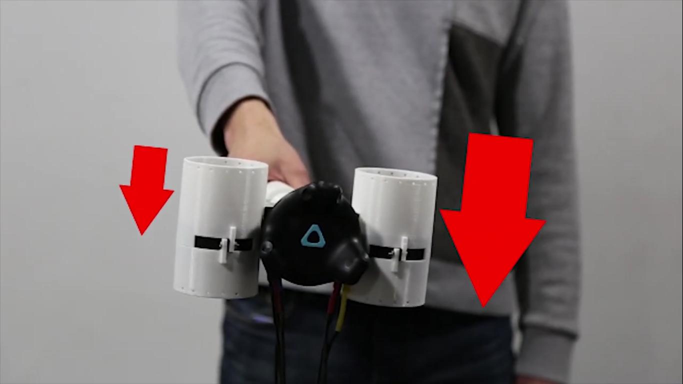 Корейские инженеры сделали простой контроллер с обратной связью для виртуальной реальности - 8