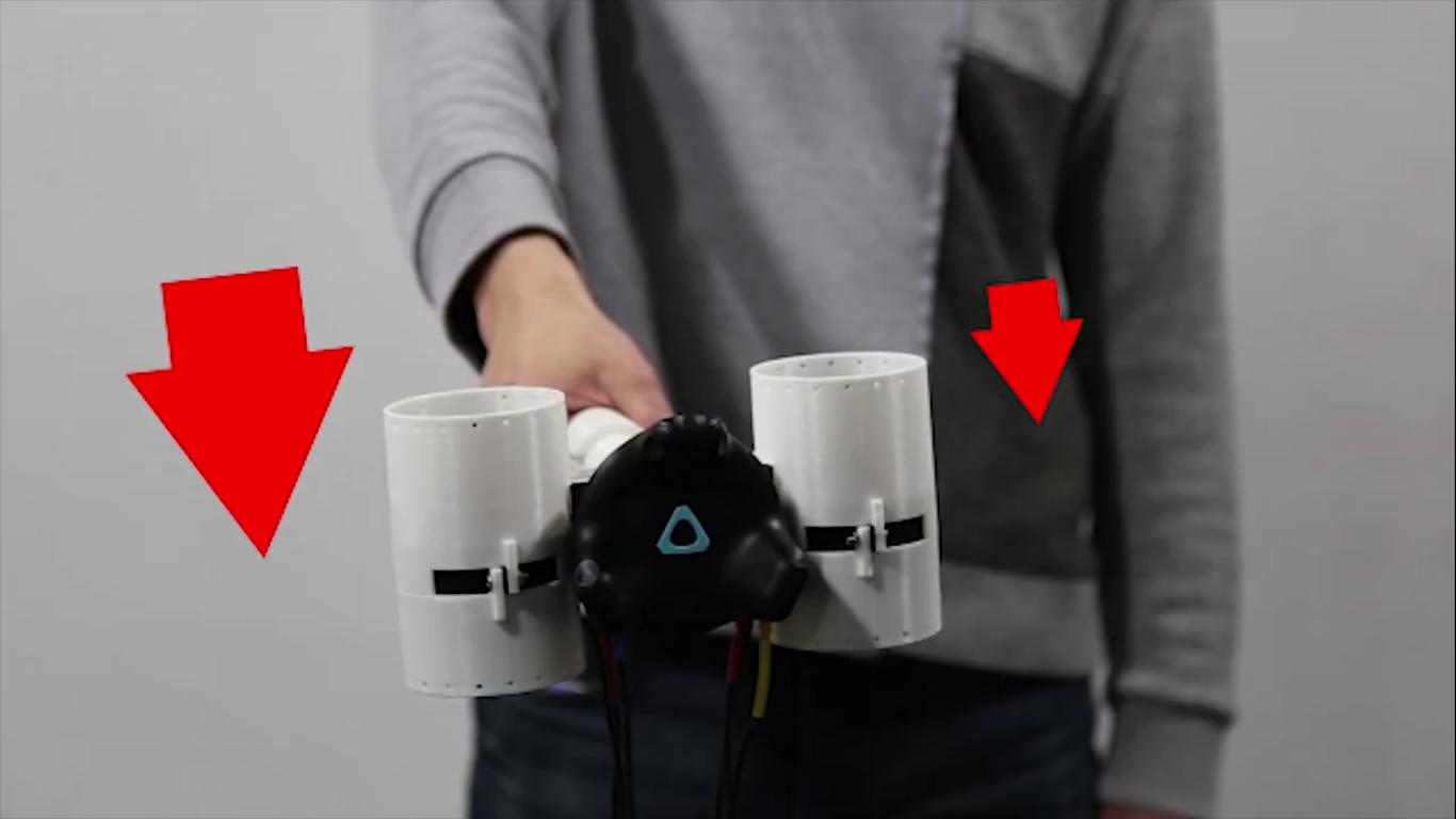 Корейские инженеры сделали простой контроллер с обратной связью для виртуальной реальности - 9