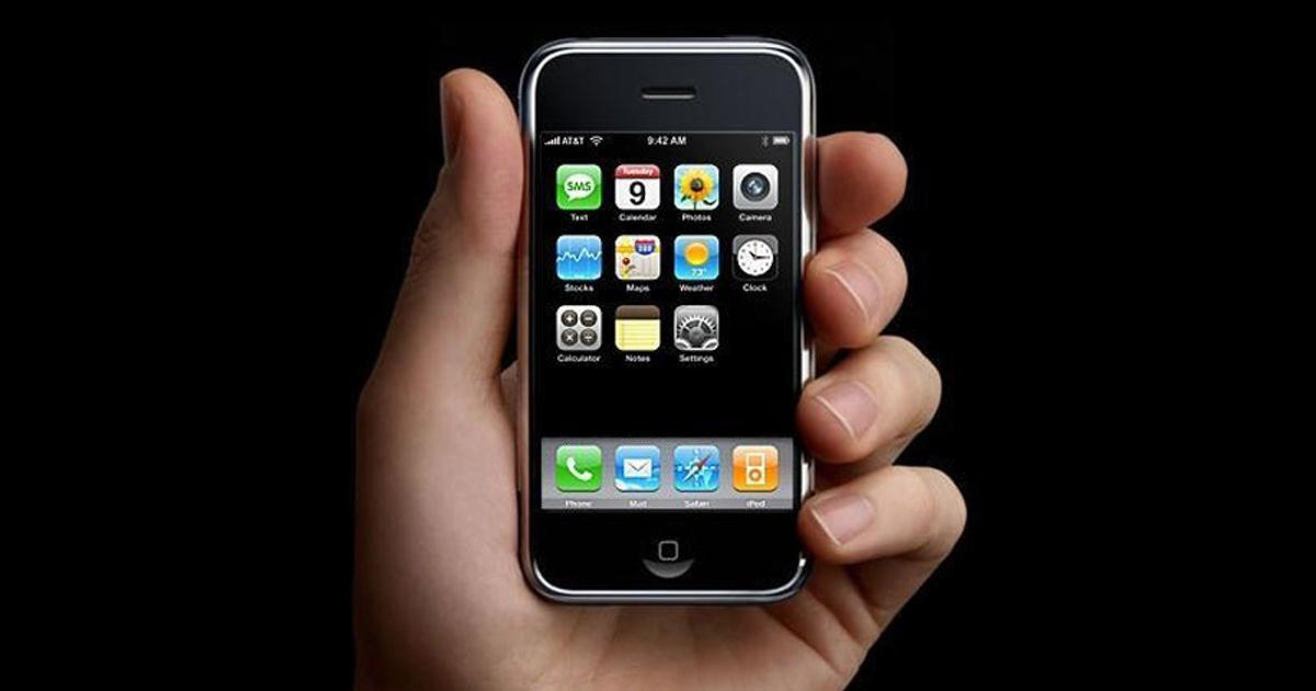 основу деления фото самого первого айфона в мире его увольнение шла