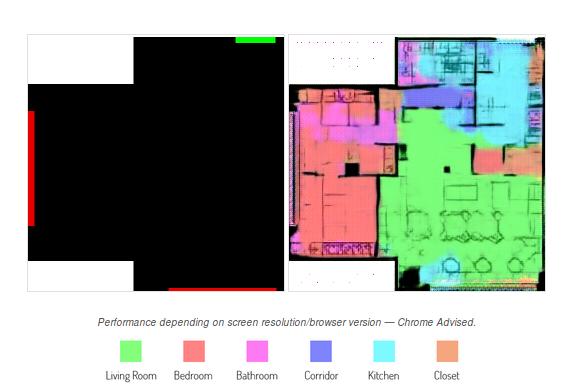 Нейросеть по контурам квартиры делит ее на зоны, рисует стены и расставляет мебель - 1