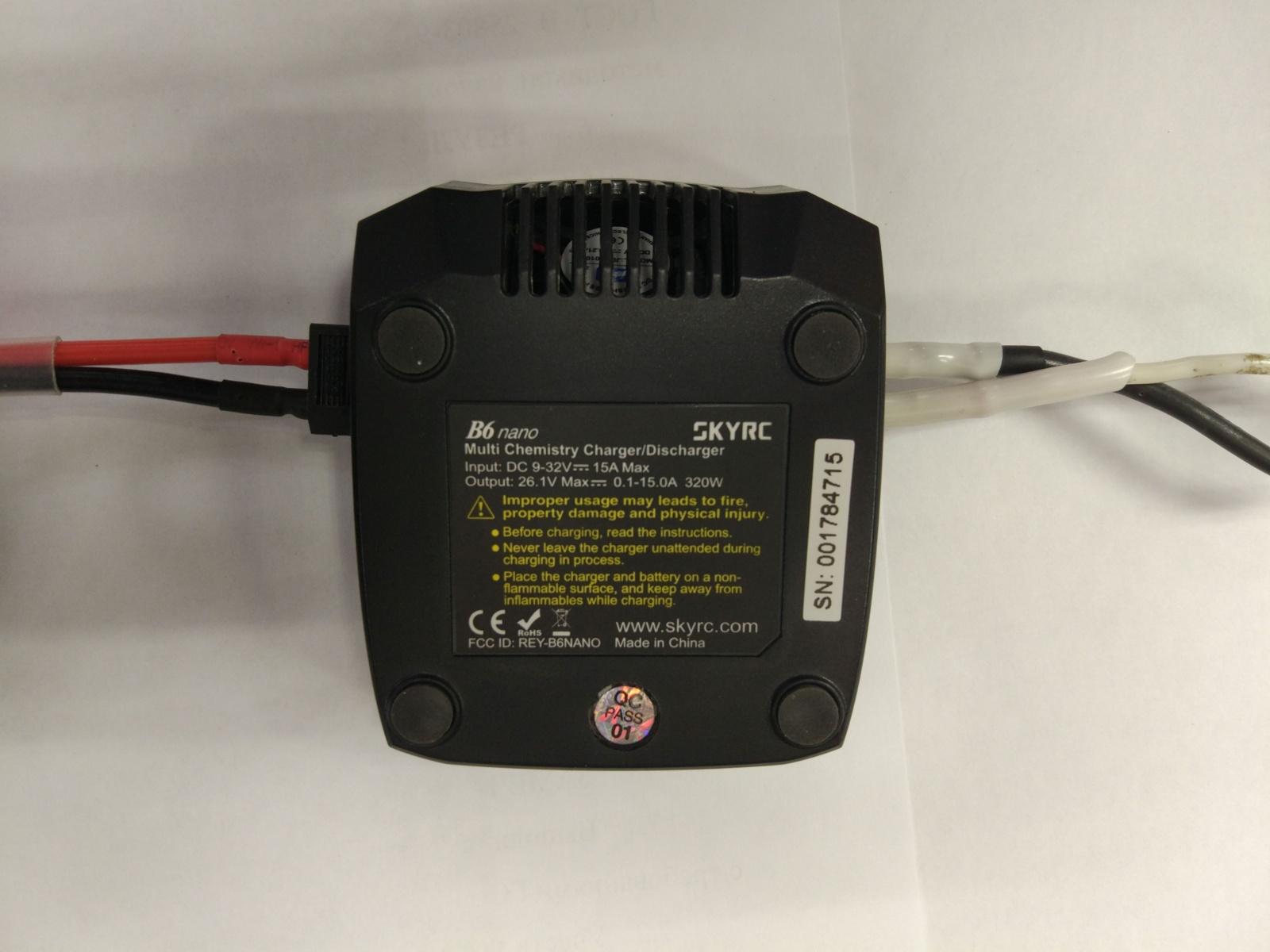 Обзор и тестирование зарядного устройства SkyRC B6 Nano - 1