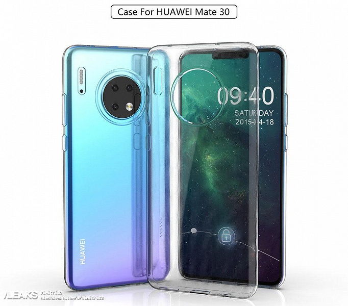 Самые качественные изображения Huawei Mate 30 демонстрируют неожиданные моменты в дизайне