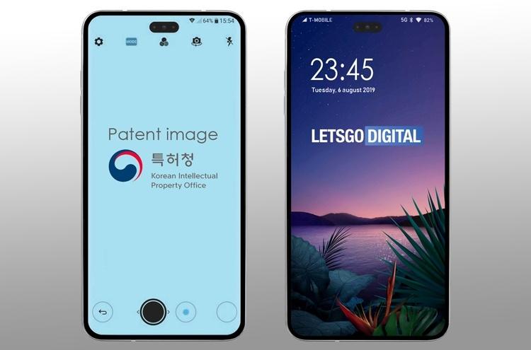 LG нашла новое применение экранному отверстию в смартфонах