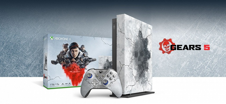 Анонсирована специальная версия консоли Xbox One X для фанатов Gears of War