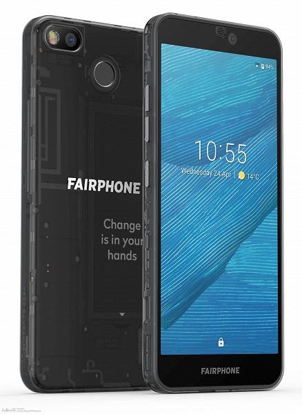 Четыре года спустя. Модульный смартфон Fairphone 3 неожиданно замечен в Сети