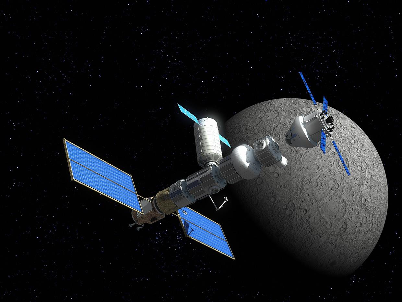 Идея с окололунной станцией от НАСА и плохая, и хорошая - 1