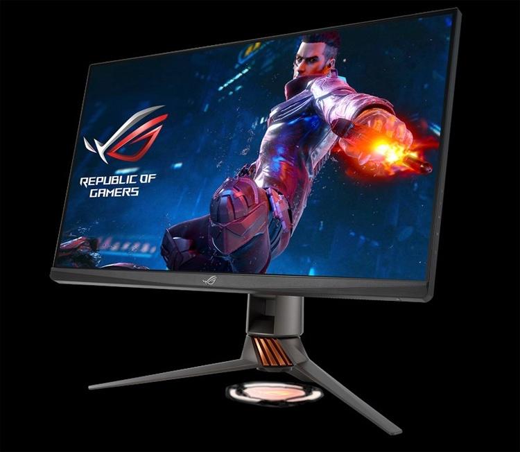 Монитор для игр ASUS ROG Swift PG279QR: безрамочный дизайн и подсветка Aura Sync