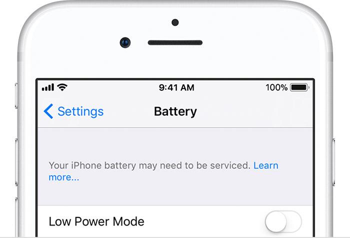 Apple начала предупреждать пользователей о неисправности батареи, если ее заменили не в официальном сервисе - 3