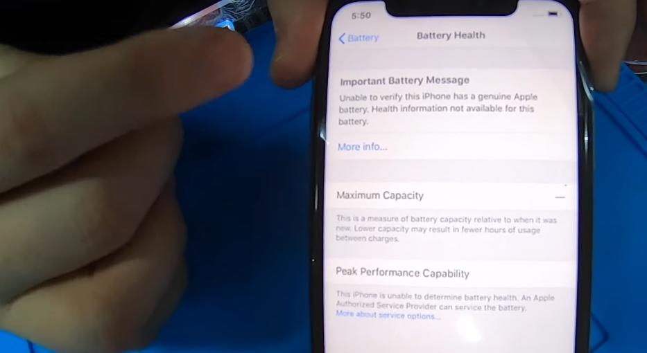 Apple начала предупреждать пользователей о неисправности батареи, если ее заменили не в официальном сервисе - 1