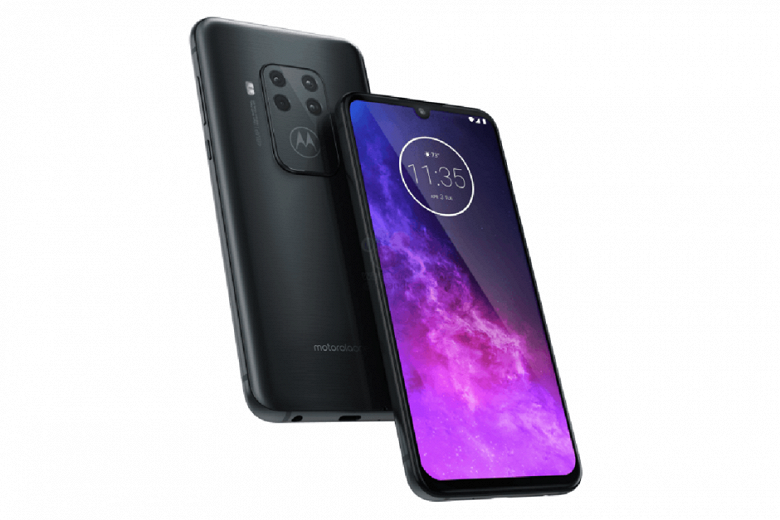 Четверная камера Motorola One Zoom получит 5-кратный зум