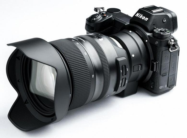 Компания Tamron разъяснила ситуацию с совместимостью ее объективов с камерами Nikon Z6 и Z7