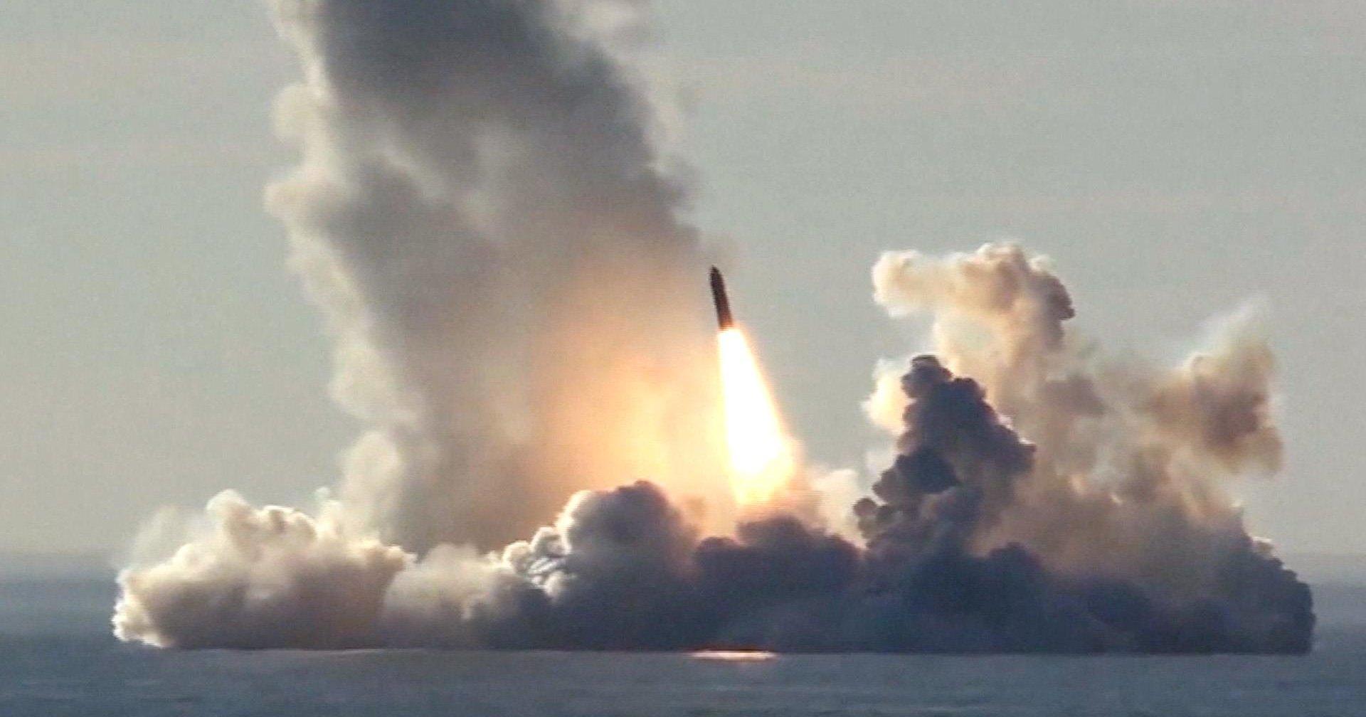 Повышение радиационного фона в Северодвинске вызвал взрыв на полигоне МБР