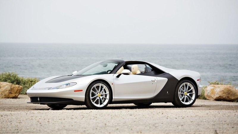 Ferrari Sergio, который собираются продать нааукционе вПеббл-Бич