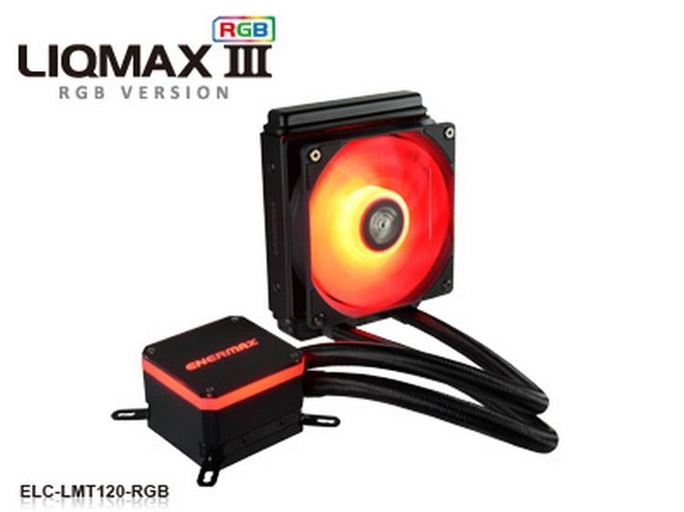 Enermax Liqmax III RGB: необслуживаемые процессорные СЖО с многоцветной подсветкой