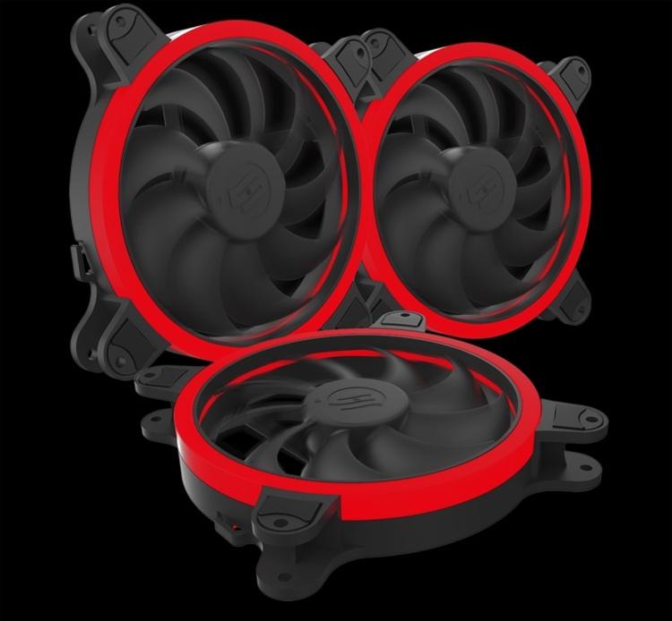 SilentiumPC Corona HP RGB 140: вентилятор охлаждения с кольцеобразной подсветкой