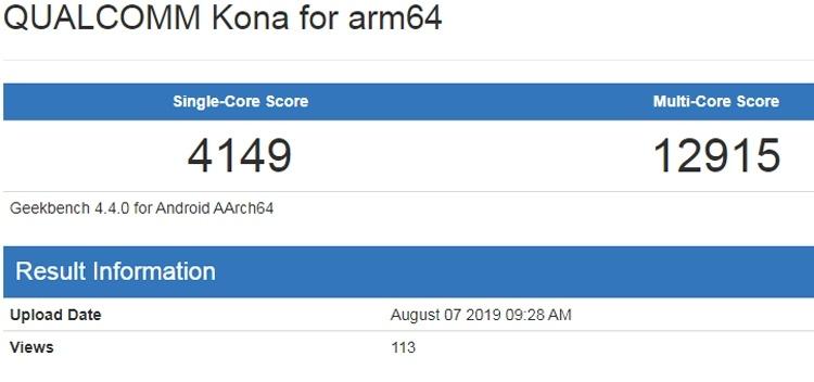 Бенчмарк даёт представление о производительности чипа Snapdragon 865