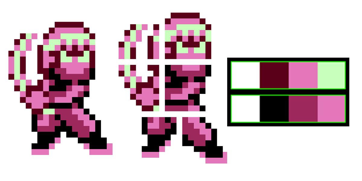 Ограничения 8-битных игр и их точное воссоздание в Unity - 4