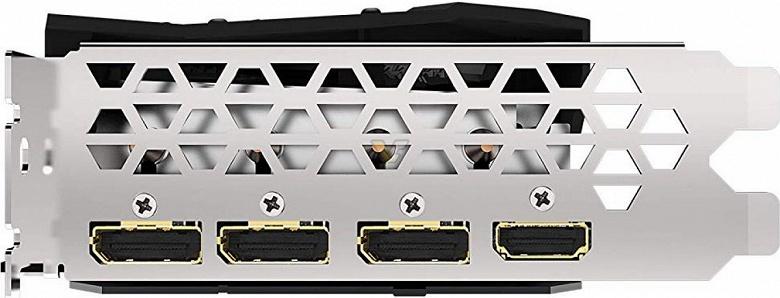 Разогнанная 3D-карта Gigabyte RX 5700 XT GAMING OC позирует на официальных рендерах