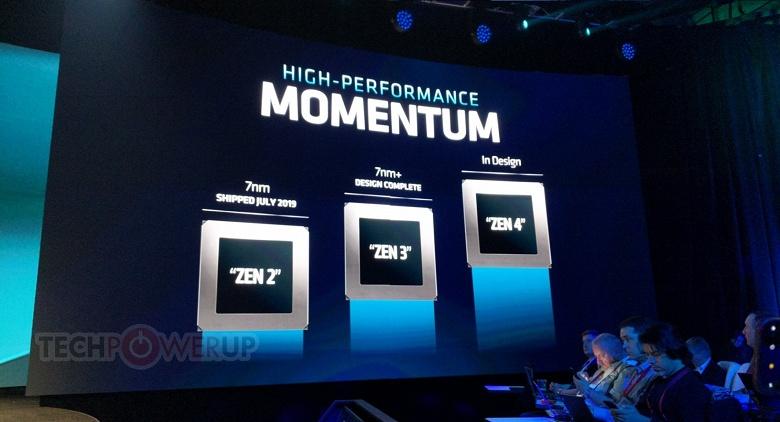 Специалисты AMD завершили разработку микроархитектуры Zen 3 и уже взялись за Zen 4