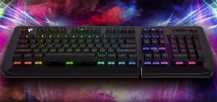 Игровая клавиатура Thermaltake Level 20 GT RGB представлена в трёх версиях