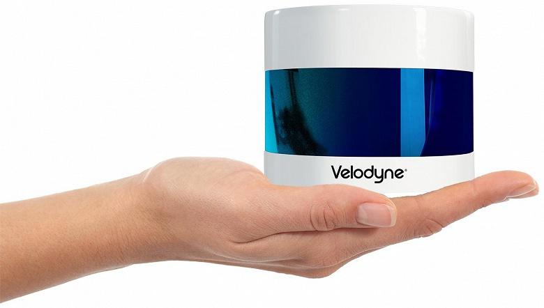 Компания Velodyne Lidar представила миниатюрный лидар Puck 32MR