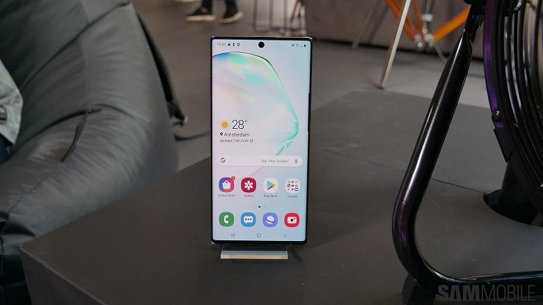 Можно поставить на свой смартфон. В сеть утекли живые видео-обои Samsung Galaxy Note10