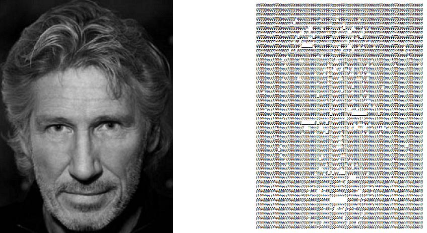 Преобразование черно-белых изображений в ASCII-графику при помощи неотрицательного матричного разложения - 7